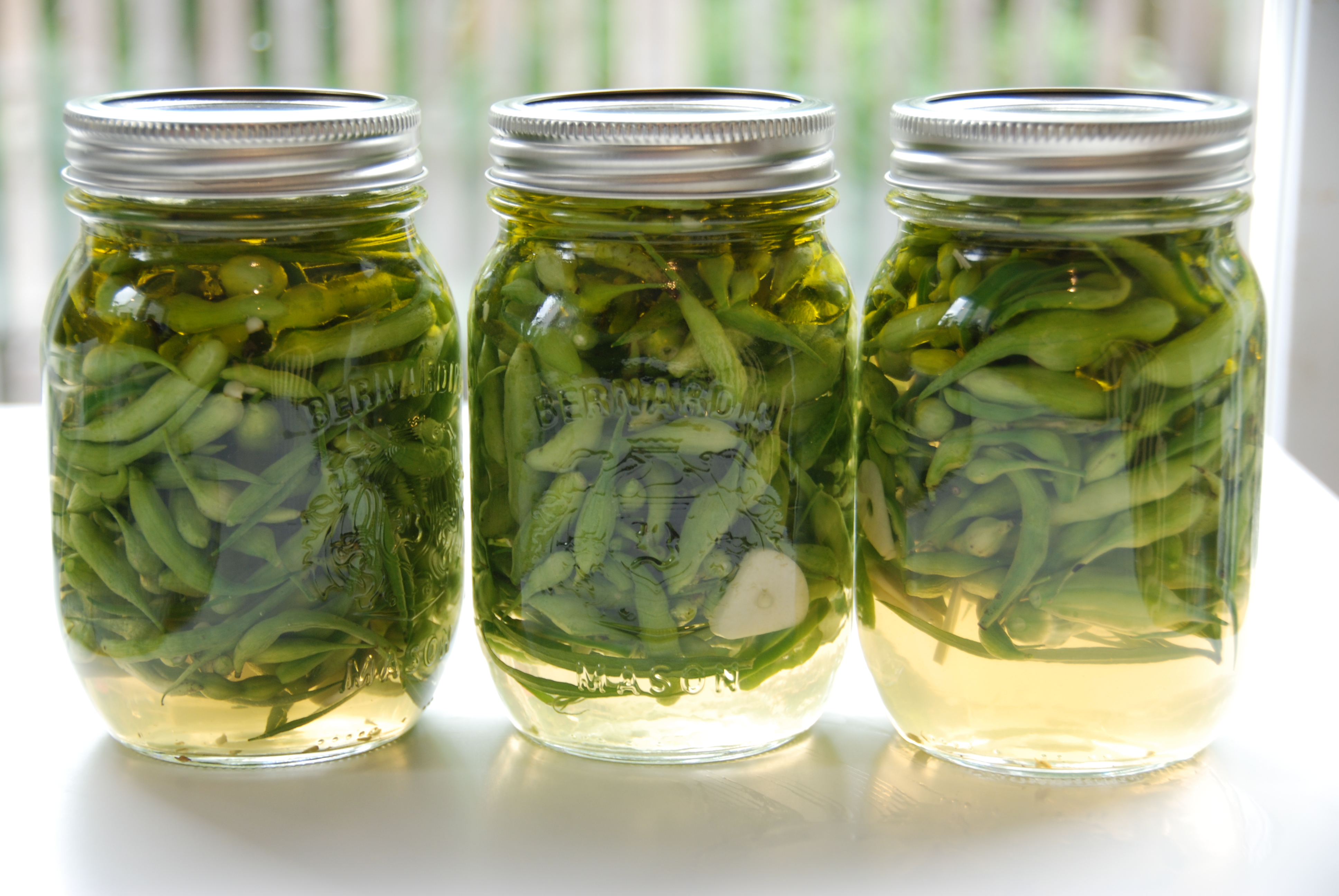 how to make spicy pickled beans